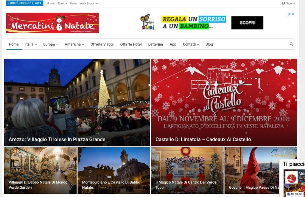 Immagini Di Natalecom.Mercatini Natale Com Realizzazione Siti Web Firenze